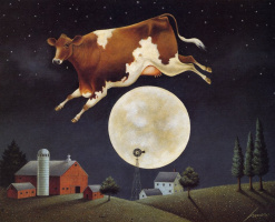 Лоуэлл Эрреро. Корова прыгает через Луну