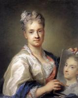 Розальба Каррьера (Каррера). Автопортрет  с портретом сестры