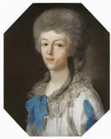 Иоганн Барду. Портрет молодой дамы