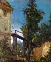 Альбрехт Альтдорфер. Пейзаж с мостом