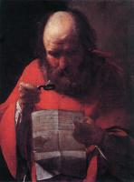 Жорж де Латур. Святой Иероним читает