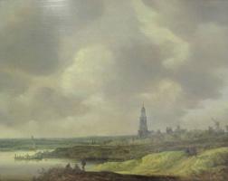 Ян ван Гойен. Вид на Ренен