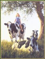 Роберт Данкан. Коровы и девочка