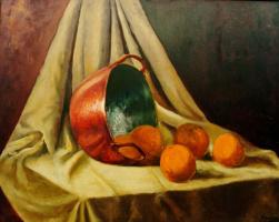 Мари Ромеро Кампо. Натюрморт с фруктами