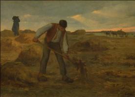 Jean-François Millet. The farmer