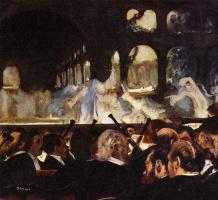 "Эдгар Дега. Сцена из балета ""Роберт-дьявол"""