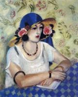 Анри Матисс. Дама в синей шляпе