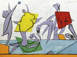 Пабло Пикассо. Спасение (Игры на пляже)