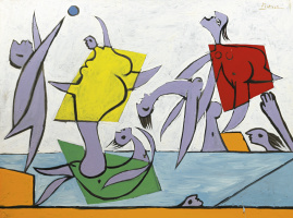 Pablo Picasso. Salvation (beach Games)