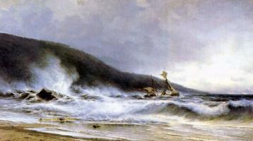 Alexey Petrovich Bogolyubov. The surf at Cape St Martini