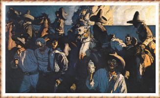 Гарольд фон Шмидт. Мексиканские рейдеры