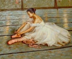 Гуань Зе-Джу. Балерина 1