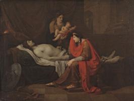Петр Федорович Соколов. Андромаха оплакивает убитого Гектора. 1809
