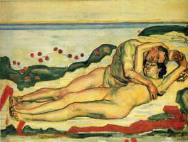 Фердинанд Ходлер. Влюбленная пара