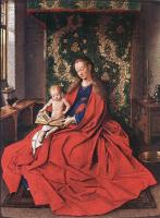 Ян ван Эйк. Мадонна с читающим ребенком