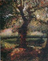 Томас Харт Бентон. Дерево в лесу