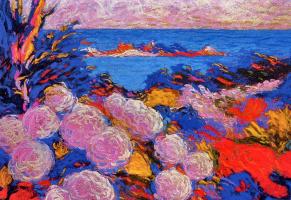 Бернард Видал. Цветы