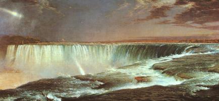 Фредерик Эдвин Чёрч. Ниагарский водопад