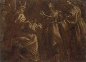 Джованни Бальоне (Баглионе). Представление в храме