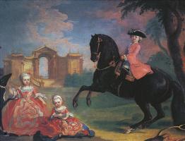 Георг Гаспар Иосиф фон Преннер. Портрет детей графа И. И. Воронцова