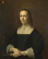 Голландский. Портрет дамы с веером