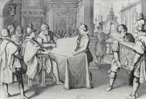 Жак Калло. Герцог велит реставрировать флорентийский собор