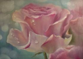Anastasia Arsenova. Morning rose