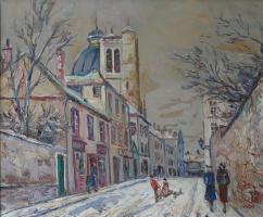 Зима на Монмартре