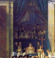 Жак-Луи Давид. Коронация императора Наполеона I и коронация императрицы Жозефины в Нотр-Дам де Пари, 2 декабря 1804 года. Фрагмент. Мать Наполеона