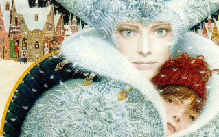 Vladislav Yerko. The snow Queen