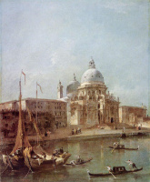Франческо Гварди. Санта Мария делла Салюте