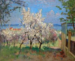 Константин Иванович Горбатов. Цветущие деревья