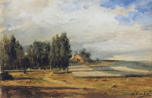 Алексей Петрович Боголюбов. Имение Боголюбовой