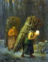 Жан-Франсуа Милле. Крестьянки с хворостом