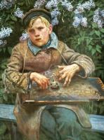 Николай Петрович Богданов-Бельский. Юный музыкант