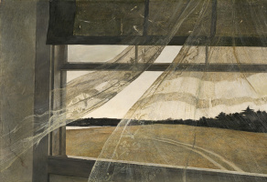 Andrew Wyeth. The wind from the sea
