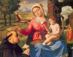 Андреа Превитали. Мадонна с младенцем