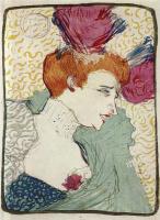 """Henri de Toulouse-Lautrec. Marcel Lande in the variety show """"Chilperic"""""""