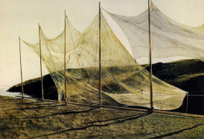 Andrew Wyeth. The day of Pentecost