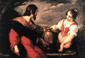 Бернардо Строцци. Христос и самаритянка