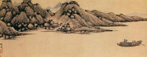 Шен Чжоу. Пейзаж 032