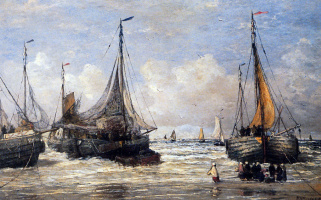 Хендрик Виллем Месдаг. Морской пейзаж