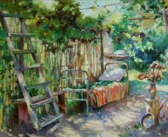 Дмитрий Козлов. В тени виноградных лоз.  2013