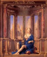 Ян Госсарт. Мадонна в синем