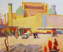 Mikhail Vasilevich Akinshin. The urban landscape