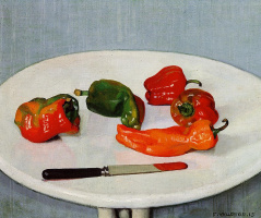 Felix Vallotton. Still life with red pepper