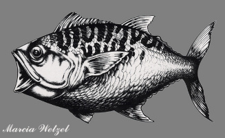 Марсия Ветцель. Большая рыба