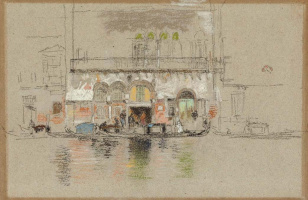 James Abbot McNeill Whistler. White and pink (the Palace)