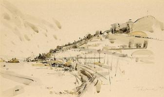 Уэйн Тибо. Пейзаж 19