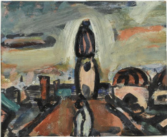 Georges Rouault. Set design for the ballet The Prodigal Son